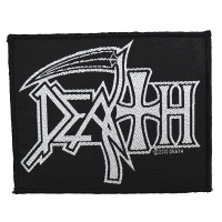 DEATH Logo Patch ワッペン