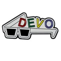 DEVO 3D Glasses ピンバッジ