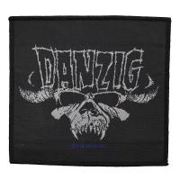 DANZIG Classic Skull Patch ワッペン