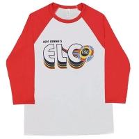ELECTRIC LIGHT ORCHESTRA 2018 Tour Logo ラグラン ロングスリーブ Tシャツ