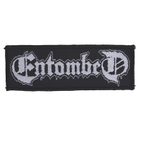 ENTOMBED Logo Patch ワッペン