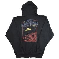 FOO FIGHTERS UFO ZIP フード パーカー