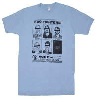 FOO FIGHTERS Cubby Bear Chicago Tシャツ
