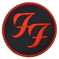 FOO FIGHTERS Circle Logo Patch ワッペン