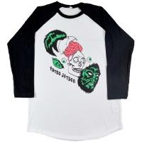 FATSO JETSON Skull ラグラン ロングスリーブ Tシャツ