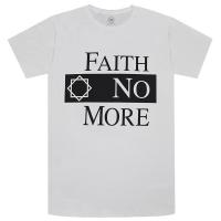 FAITH NO MORE Classic Logo Tシャツ WHITE
