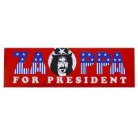 FRANK ZAPPA For President Bumper ステッカー