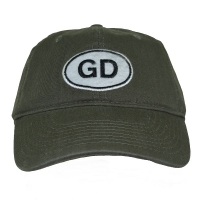 GRATEFUL DEAD GD Oval DAD ベースボールキャップ