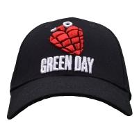 GREEN DAY Grenade Logo スナップバックキャップ