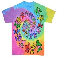 GRATEFUL DEAD Spiral Bears Tシャツ TIE-DYE