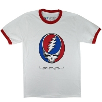 GRATEFUL DEAD Steal Your Face トリム Tシャツ