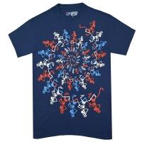 GRATEFUL DEAD USA Spiral Skeletons Tシャツ