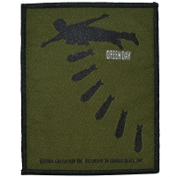 GREEN DAY Bomb Patch ワッペン