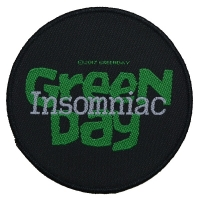 GREEN DAY Insomniac Patch ワッペン