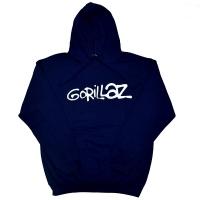GORILLAZ Logo プルオーバー パーカー