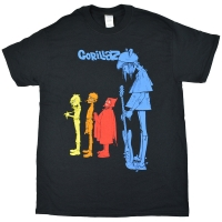 GORILLAZ Rock The House Tシャツ