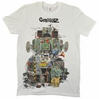 GORILLAZ Multi Boomboxes Tシャツ