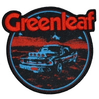 GREENLEAF Desert Car Patch ワッペン