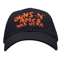GUNS N' ROSES ガンズアンドローゼズ Was Here スナップバックキャップ