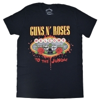 GUNS N' ROSES Welcome To The Jungle Tシャツ