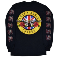 GUNS N' ROSES Live In London ロングスリーブ Tシャツ