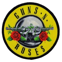 GUNS N' ROSES Bullet Logo Patch ワッペン 2