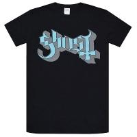 GHOST Blue Grey Keyline Logo Tシャツ
