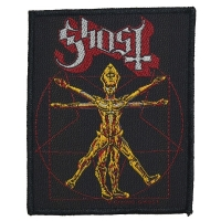 GHOST The Vitruvian Ghost Patch ワッペン