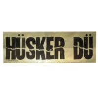 HUSKER DU Logo ステッカー