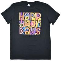 HAPPY MONDAYS Classic Logo Tシャツ BLACK