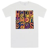 HAPPY MONDAYS Classic Logo Tシャツ WHITE