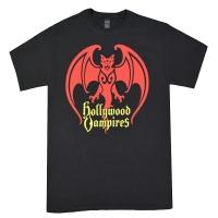 HOLLYWOOD VAMPIRES Bat Logo Tシャツ
