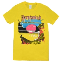 HAWKWIND Warrior On The Edge Of Time Tシャツ