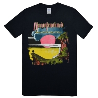 HAWKWIND Warrior On The Edge Of Time Tシャツ BLACK