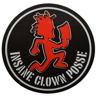 INSANE CLOWN POSSE Logo Hachetman ステッカー