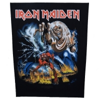 IRON MAIDEN Number Of The Beast バックパッチ