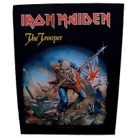 IRON MAIDEN The Trooper バックパッチ