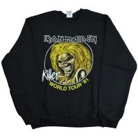 IRON MAIDEN Killer World Tour '81 スウェット トレーナー