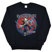 IRON MAIDEN Trooper Red Sky スウェット トレーナー