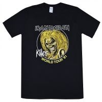IRON MAIDEN Killer World Tour'81 Tシャツ