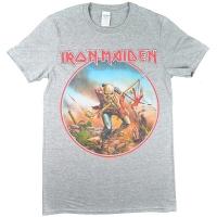 IRON MAIDEN Trooper Vintage Circle Tシャツ