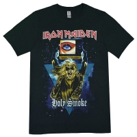 IRON MAIDEN Holy Smoke Space Triangle Tシャツ