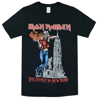 IRON MAIDEN The Beast In New York Tシャツ