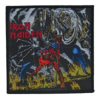 IRON MAIDEN Number Of The Beast Patch ワッペン