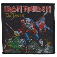 IRON MAIDEN The Trooper Patch ワッペン