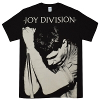 JOY DIVISION Ian Curtis Big Print Tシャツ