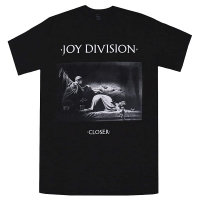 JOY DIVISION Closer Black Tシャツ