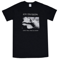 JOY DIVISION Love Will Tear Us Apart Tシャツ