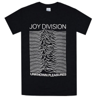 JOY DIVISION Unknown Pleasures Tシャツ BLACK