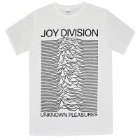 JOY DIVISION Unknown Pleasures Tシャツ WHITE